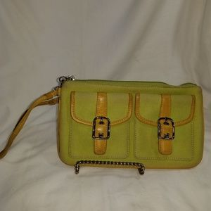 B8,054 Coach Wristlet Wallet Wristlet Green
